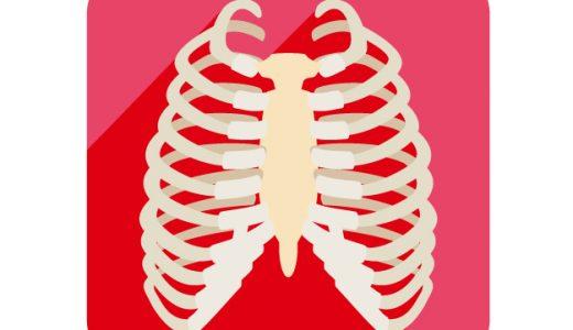 肋骨神経痛と肋間神経痛の症状。肋骨まわりが痛い場合